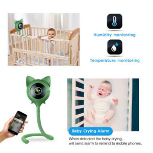Wireless wifi baby monitor with motion+ cry detection  w phone