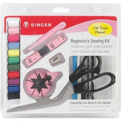 Singer 1512 Beginners Sewing Kit, 130 pieces, New, Free Shipping