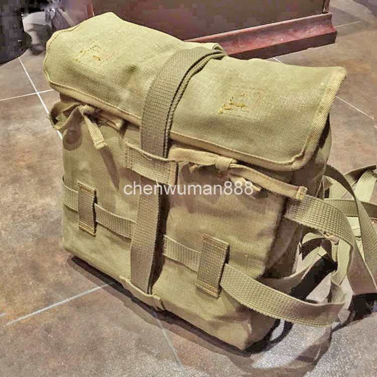 WWII JAPANESE MILITARY ARMY 1940 BACKPACK JAPAN SOLDIER OCTOPUS FLAX CANVAS SACK