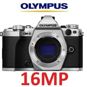 NEW OLYMPUS OMD-EM5 II CAMERA E-M5 Mark II 252044841 MIRRORLESS E-M5 MARK II BODY ONLY SILVER 16MP PHOTOGRAPHY