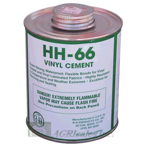 HH-66 Vinyl Cement -  1 Quart Can (32 oz) - Pool Cover Repair & Awning Repair