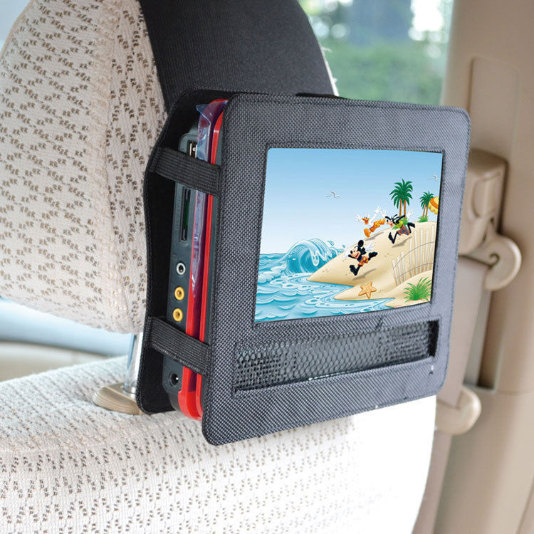 DIY Car Mount For A DVD Player