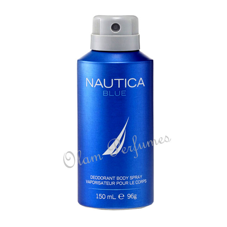 Nautica Blue By Nautica Deodorant Body Spray 5 Oz