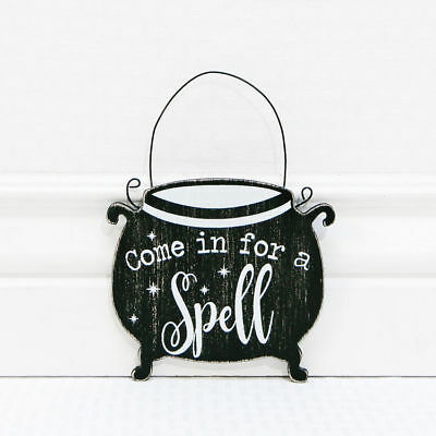 Adams & Co. Halloween Decor - Come In For  A Spell Ornament](Spells For Halloween)