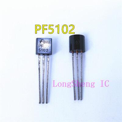 10pcs Pf5102 Jfet N-ch 40v 625mw To92 Fairchild New