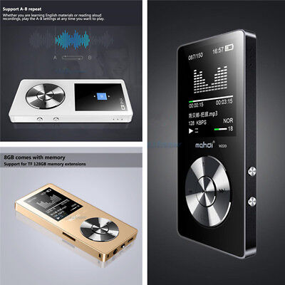 2017 Latest Version MP3 Music Player Lossless Sound Portable Support Up To 128GB