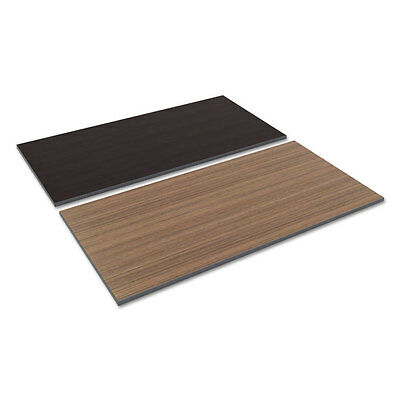Alera Reversible Laminate Table Top Rectangular 59 12w X 29 12d Espresso