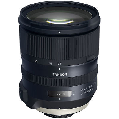 Tamron SP 24-70mm f/2.8 Di VC USD G2 Lens for Nikon F (AFA032N-700)