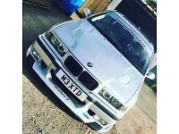 BMW M3 replica look!! swap or sell e36 318i se long mot loads of extras!!!
