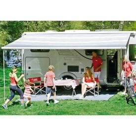 FIAMMA CARAVANSTORE ZIP CANOPY AWNING 280 WITH SIDEAND FRONT PANEL ALl FOR 150