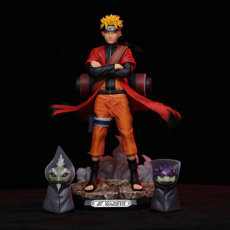 Anime Naruto Shippuden GK Uzumaki Naruto Sage Mode PVC Figure Toy New In Box