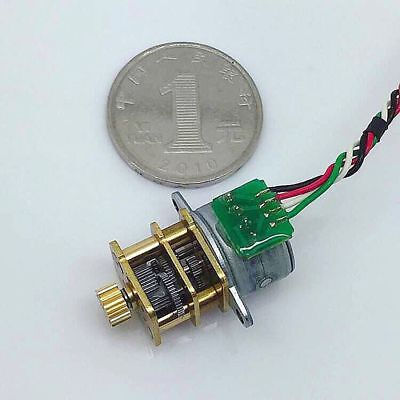 1pcs 15by High Precision Stepper Motor Micro Gear Motor With Full Metal Gearbox