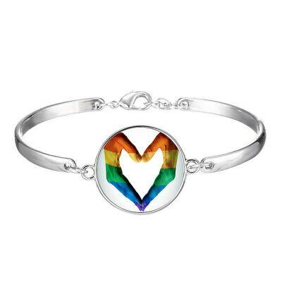 Best Friend Gay Pride LGBT Charm Bracelets Fashion Jewelry Wholesale #887