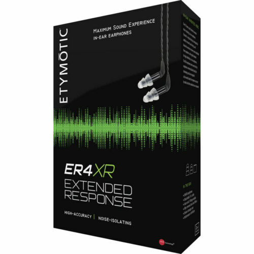 New Etymotic ER4XR Extended Response Maximum Sound Experience In-Ear Earphones
