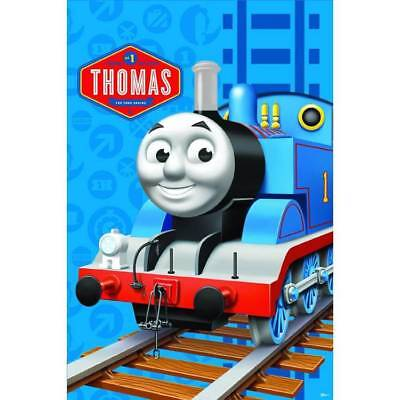 THOMAS THE TANK ENGINE PARTY PIN GAME POSTER AND FRIENDS 2 - 12 PLAYERS TRAIN   (Thomas The Tank Engine Party)