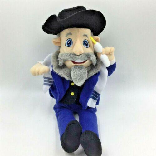 The Mensch on a Bench Hanukkah Decor plush toy Gift 30cm