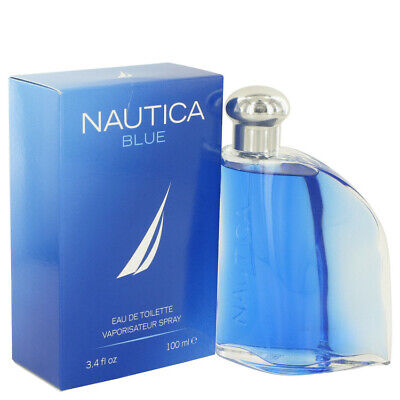 NAUTICA BLUE COLOGNE by Nautica for Men, 3.4 oz. EDT Spray,  BRAND NEW IN BOX