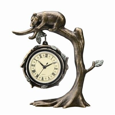 (Bear on Tree Desk Clock | 33394)