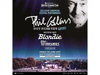 ** 2 x PHIL COLLINS TICKETS - HYDE PARK - GENERAL ADMISSION **