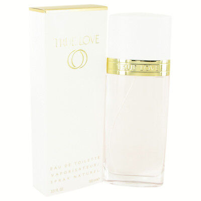 TRUE LOVE by Elizabeth Arden 3.3 oz EDT Spray Perfume for Women New in -