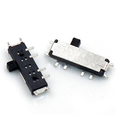 508 Pin 3 Position Onoffon Mini Micro Horizontal Slide Toggle Switch Smd Smt