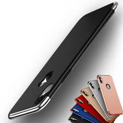 Luxury thin Electroplate Hard Back Case Cover for Apple iPhone 7 8 plus X 6S SE
