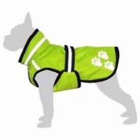 BNWT Glowdog Neon Dog Coat