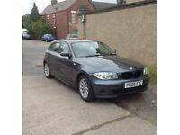 Bmw118D Ash Grey metalic with full service history