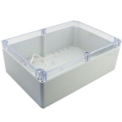 265x185x95mm Waterproof Clear Electronic Project Box Enclosure Plastic Case