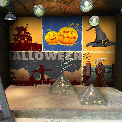 3D Halloween Kürbis 689 Tapete Tapeten Mauer Foto Familie Tapete Wandgemälde DE](Fotos De Halloween 3d)