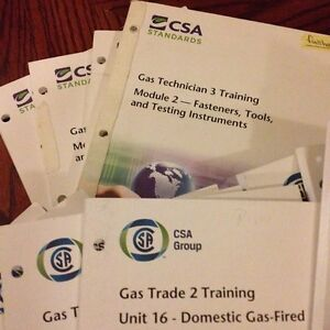 TSSA Gas Technician's Course 2 & 3 - CSA Textbooks Kingston Kingston Area image 1