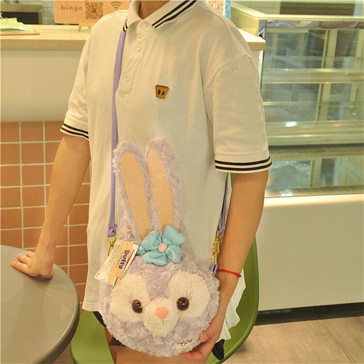 Japan Tokyo Disney Sea Delightful Autumn Woods Duffy StellaLou Plush Purse Bag