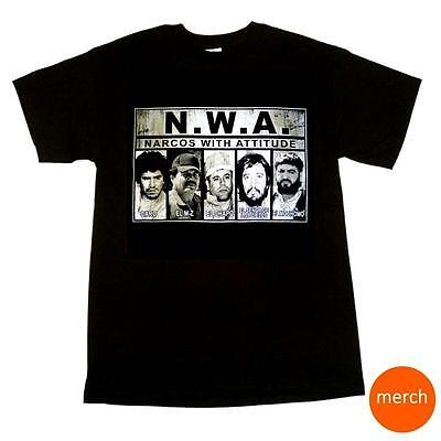 Nwa T Shirt Narcos With Attitude Caro Mayo El Chapo Guzman Carrillo Mochomo