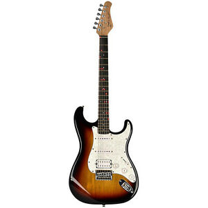 Guitare de type Stratocaster - Fretlight - Cours de guitare