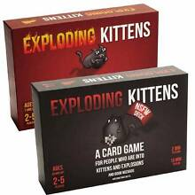 New & Sealed EXPLODING KITTENS NSFW & Original Version City North Canberra Preview