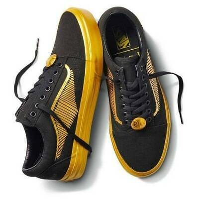 VANS x HARRY POTTER OLD SKOOL BLACK GOLD SKATE SHOES MINT MENS SZ 9 NEW NIB⚡