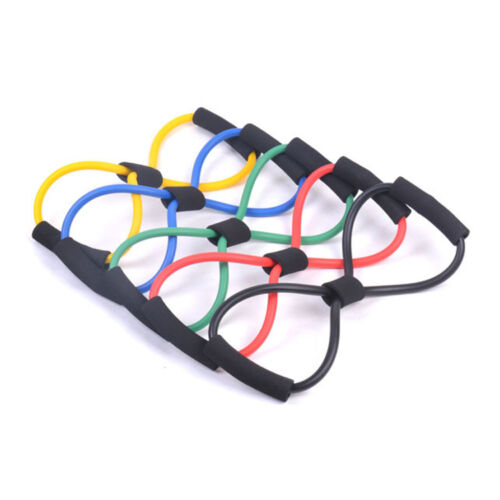Exercise Rubber Bands Green: Rubber Bands Exercise Resistance Loop Tube Fitness Pilates