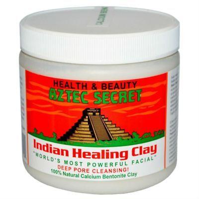 Aztec Secret Indian Healing Clay Bentonite Facial Deep Pore Clean 100% Pure 1lb
