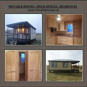 Movable Houses, Oil Field Offices, First Nations Housing