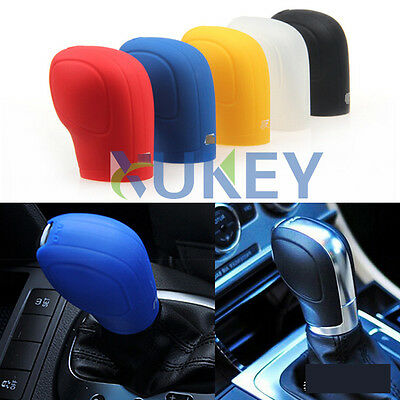 Silicone Shift Gear Knob Stick Cover For VW Golf 6 7 Passat Jetta CC Polo Touran