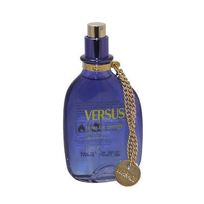 VERSACE VERSUS TIME FOR ENERGY 125ML EDT SPRAY - NEW - RARE!