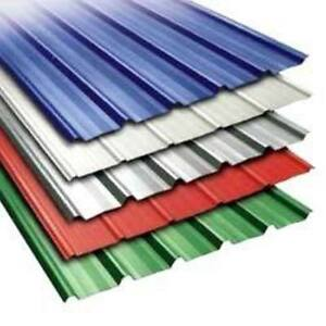 Corrugates Steel, Roofing, Siding ***NEW*** 7 Colours
