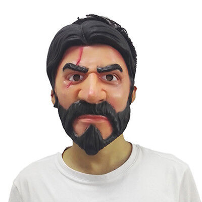 Christmas Halloween Party Prop Mask ForReaper John Wick Skin Cosplay Mask - Christmas Halloween
