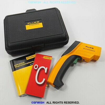 New Fluke 63 Ir Handheld Digital Non-contact Infrared Thermometer Gun Open Box