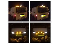 Recovery beacons bar and led grill set