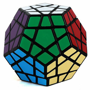 12 Sides 3x3 Megaminx Speed Magic Cube Smooth Twist Puzzle Rubik's Toy Game Play
