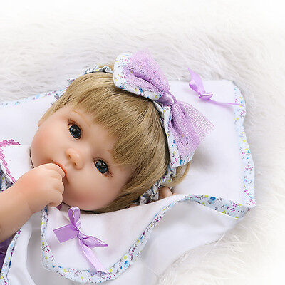 Handmade Baby Dolls Girl Newborn Lifelike Vinyl Alive Reborn Baby Doll Realistic