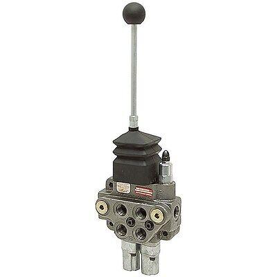 2 Spool 10 Gpm Compact Hydraulic Joystick Control Valve Brand Lv22rfstkab 9-7401