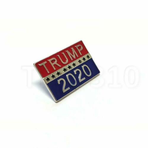 Donald TRUMP 2020 Election President Badge Republican Button Pin USA Flag