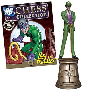 The RIDDLER DC CHESS FIGURE & MAG in BOX #8 BATMAN Set EAGLEMOSS Molendinar Gold Coast City Preview